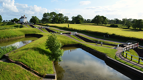 Foxton Locks - Dog Walks Near Me
