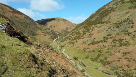 Lightspout Waterfall, Carding Mill Valley, Shropshire - Dog Walks Near Me